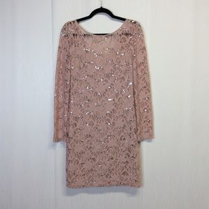 Jessica Simpson collection party dress sequin 6